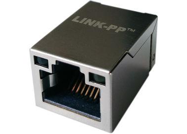 LPJ19201BGNL 표면 실장 1 배 RJ45 탭 - 업 W / LEDs, 10 / 100 BASE-T 이더넷
